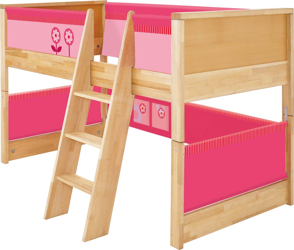 haba spielbett matti in rosa zum aktionspreis. Black Bedroom Furniture Sets. Home Design Ideas