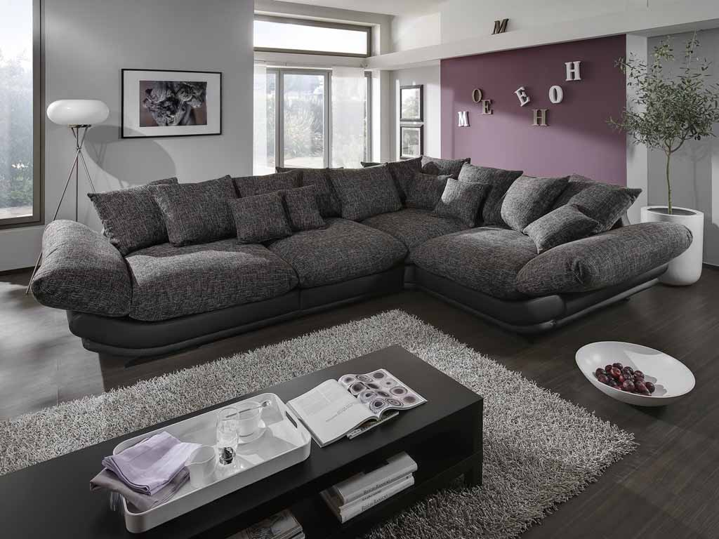 new look rose sofa schwarz braun wei zum aktionspreis. Black Bedroom Furniture Sets. Home Design Ideas