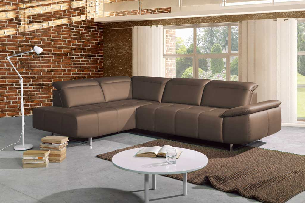 new look win sofa mit ottomane taupe zum aktionspreis. Black Bedroom Furniture Sets. Home Design Ideas