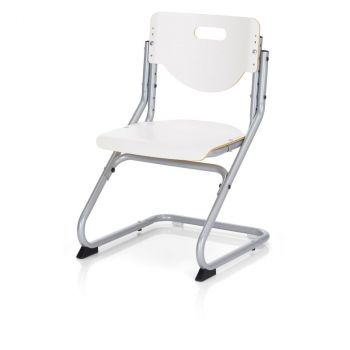 Stuhl Chair Plus White silber (06725-600)