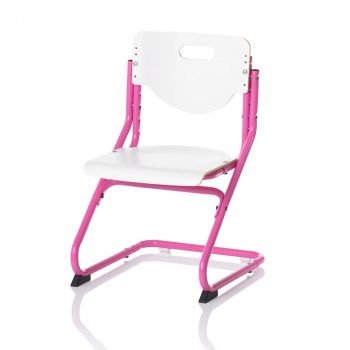 Stuhl Chair Plus White pink