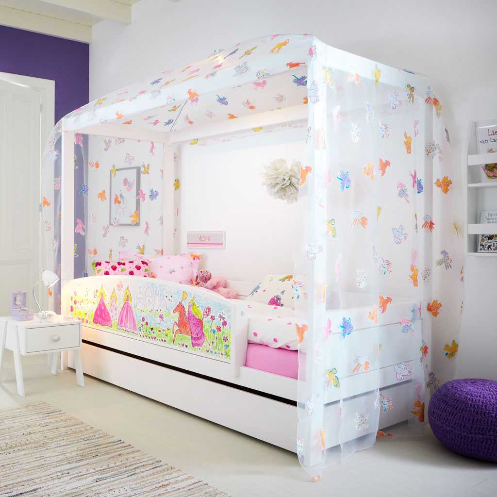 himmelbett kinderbett prinzessin neuesten. Black Bedroom Furniture Sets. Home Design Ideas