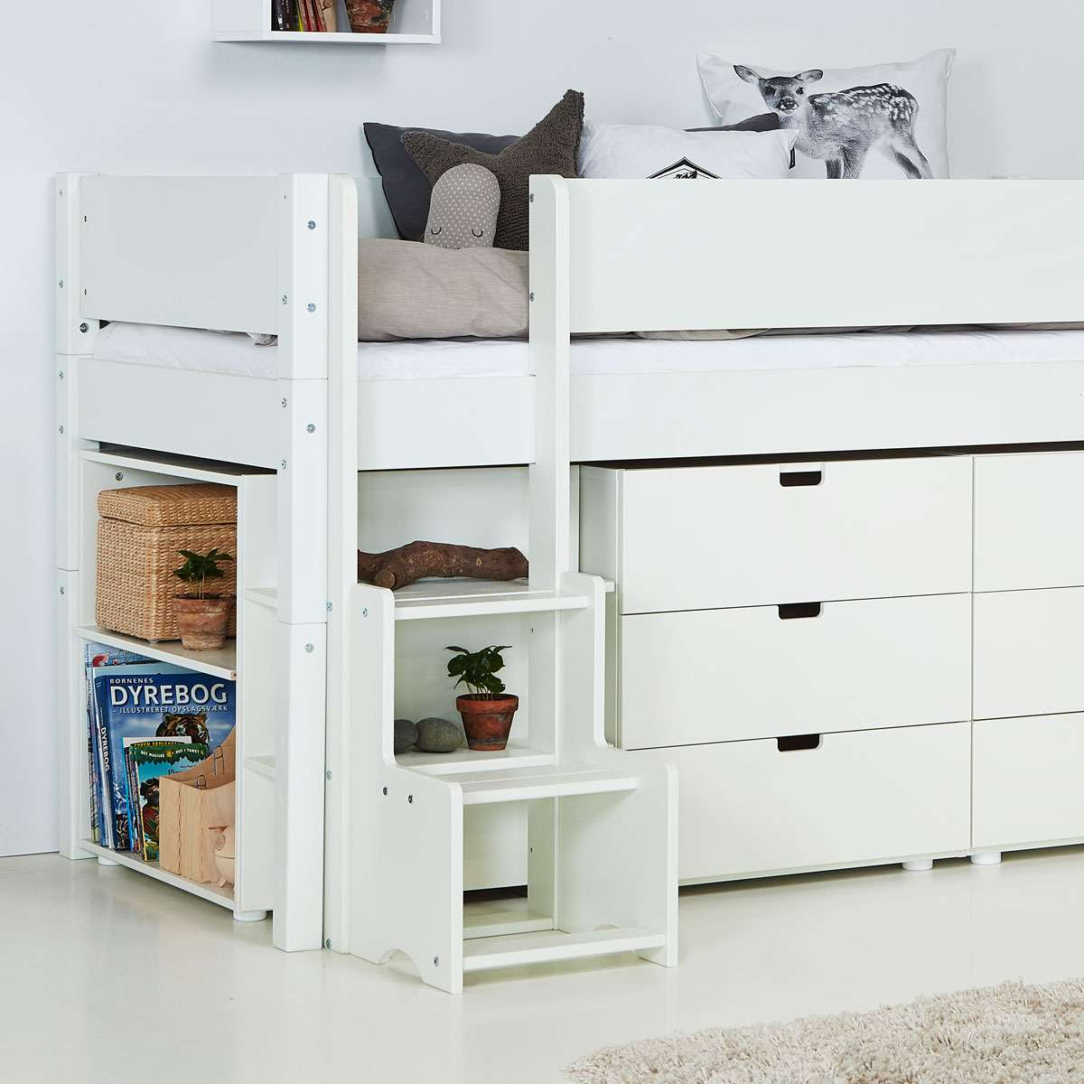 manis h halbhohes bett arn jetzt online bestellen. Black Bedroom Furniture Sets. Home Design Ideas