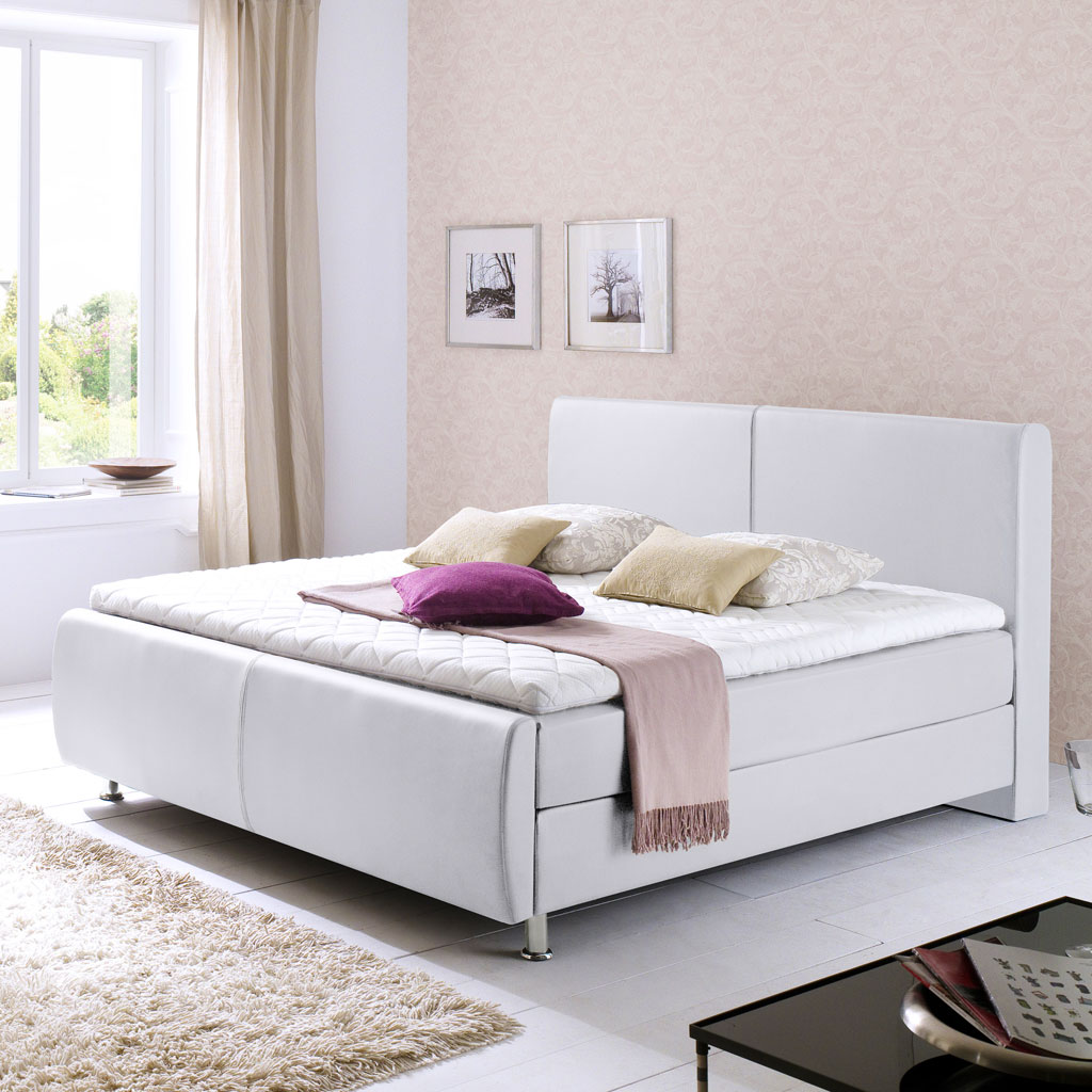 meise amadeo boxspringbett wei stark reduziert. Black Bedroom Furniture Sets. Home Design Ideas