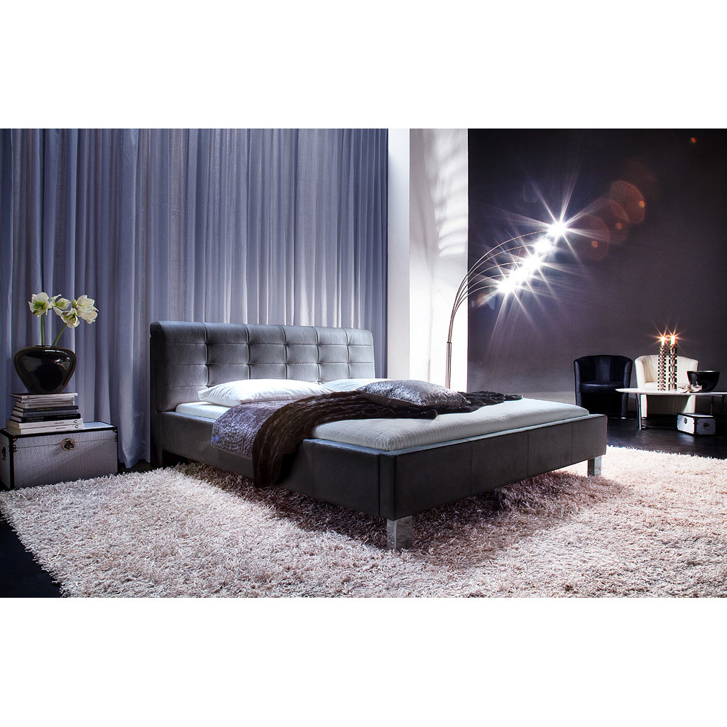 meise m bel detroit polsterbett schwarz portofrei. Black Bedroom Furniture Sets. Home Design Ideas