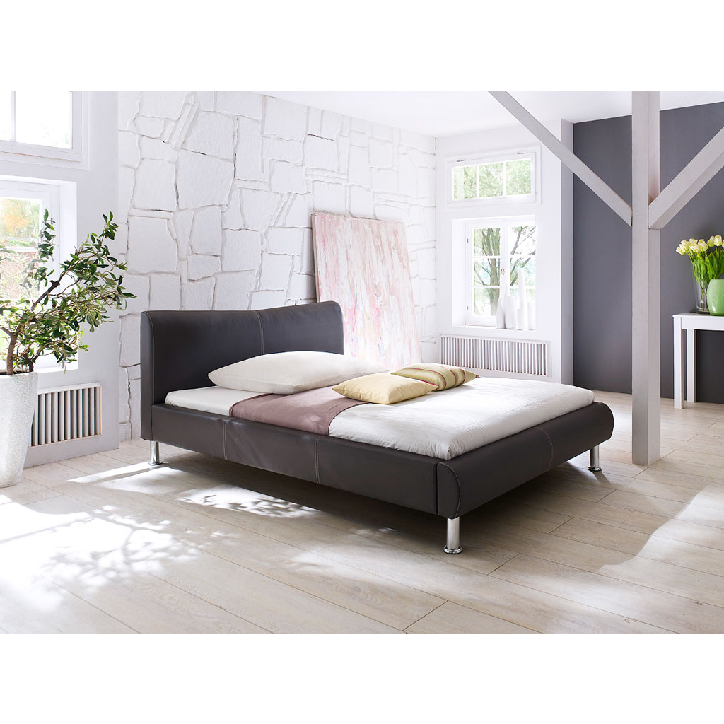 meise m bel river polsterbett braun portofrei. Black Bedroom Furniture Sets. Home Design Ideas