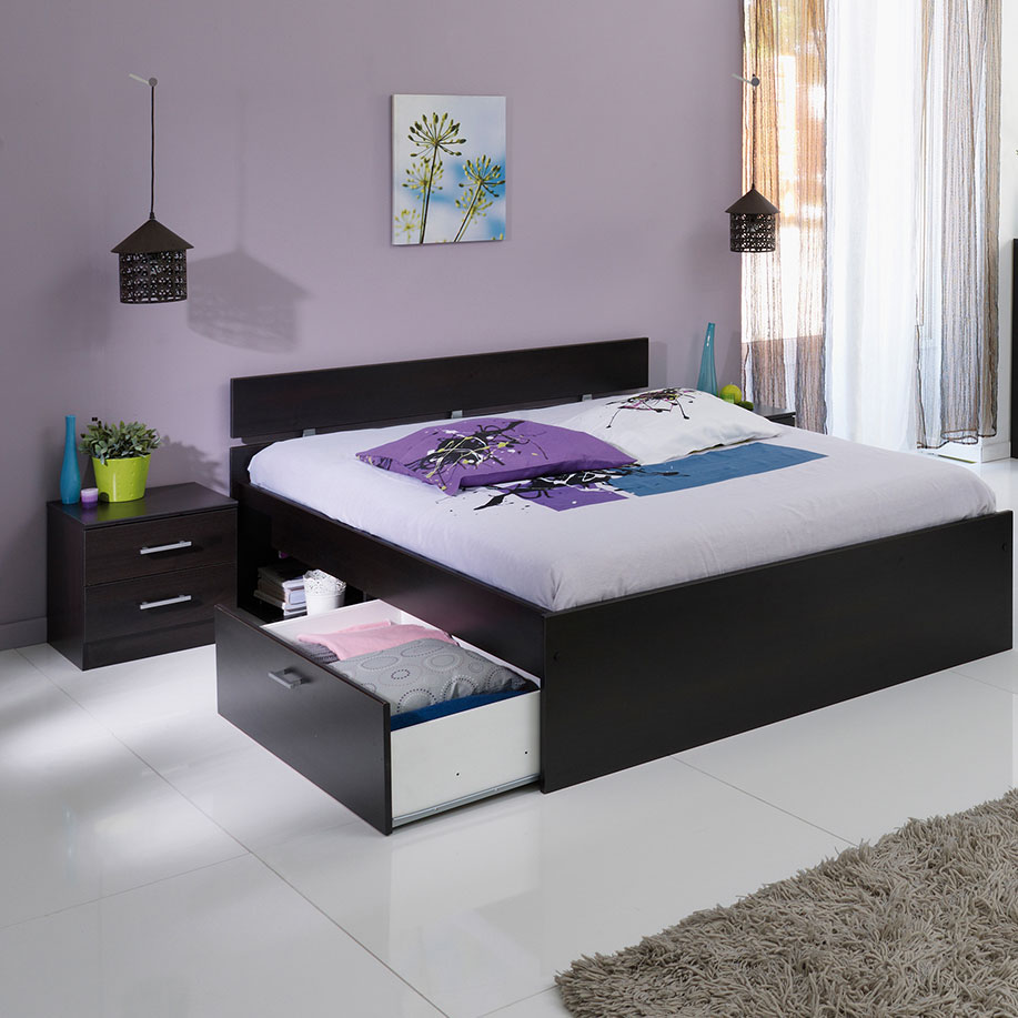 parisot infinity 214 schlafzimmer dekor kaffee komplett. Black Bedroom Furniture Sets. Home Design Ideas