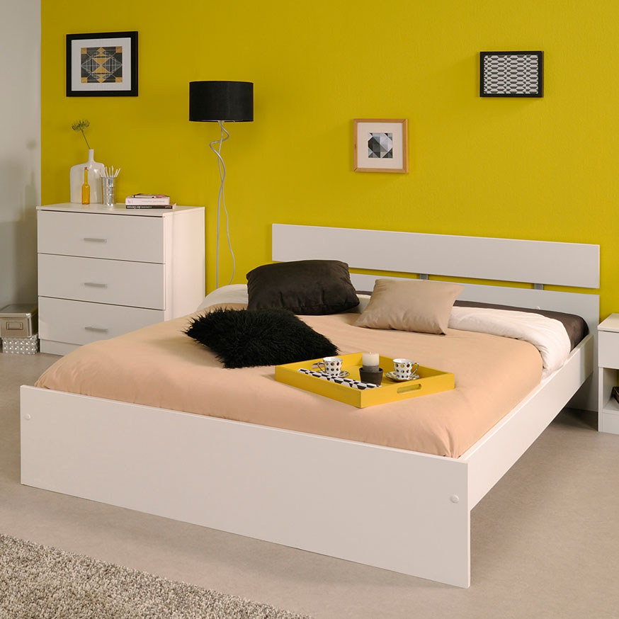 parisot infinity 103 schlafzimmer wei komplettangebot. Black Bedroom Furniture Sets. Home Design Ideas
