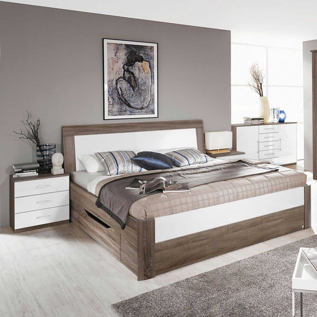 rauch arona komfortbett eiche havanna alpinwei. Black Bedroom Furniture Sets. Home Design Ideas