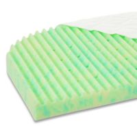 mit Matratze 168541 Ultrafresh Wave, grün