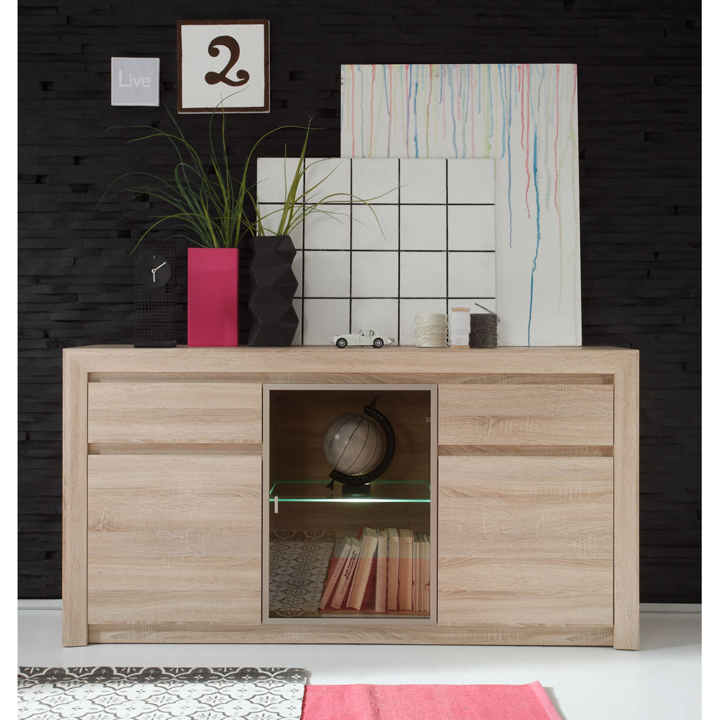 trendteam sevilla sideboard versandkostenfrei. Black Bedroom Furniture Sets. Home Design Ideas