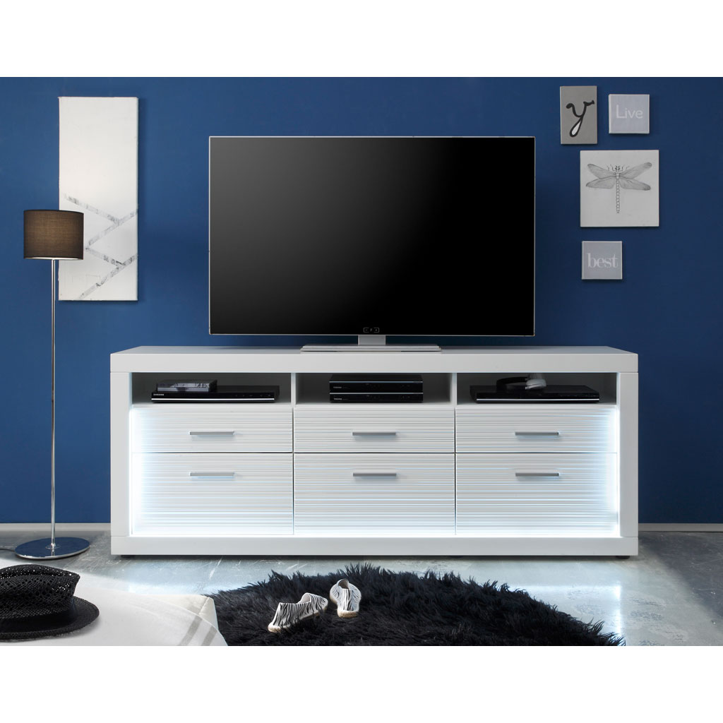 trendteam starlight tv unterteil hoch versandkostenfrei. Black Bedroom Furniture Sets. Home Design Ideas
