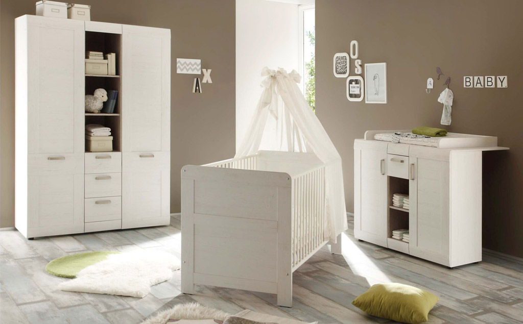 trendteam landi babyzimmer. Black Bedroom Furniture Sets. Home Design Ideas