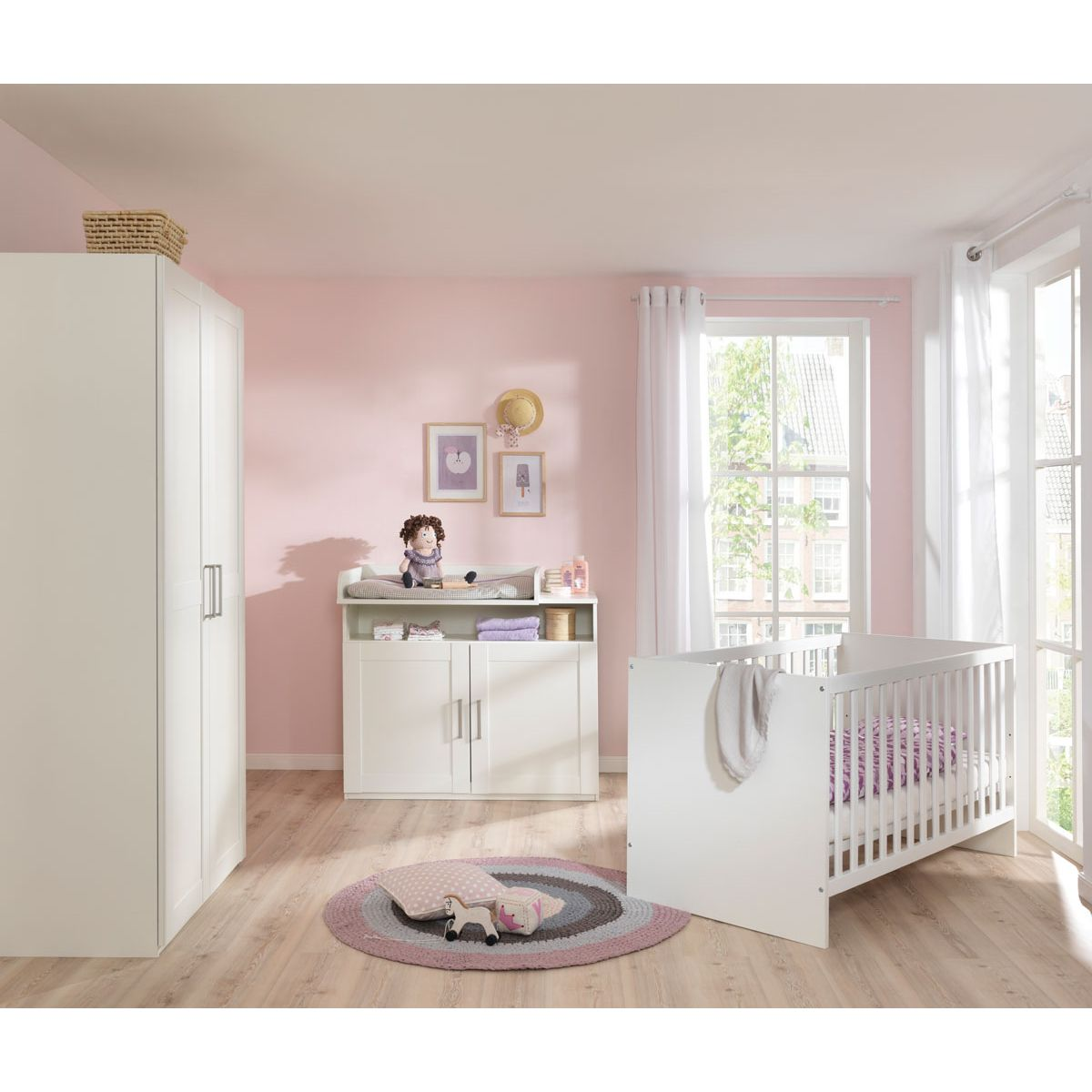wellem bel country kinderzimmer auf. Black Bedroom Furniture Sets. Home Design Ideas