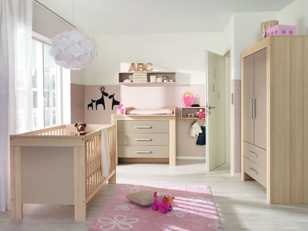 wellem bel lasse kinderzimmer esche sandgrau. Black Bedroom Furniture Sets. Home Design Ideas