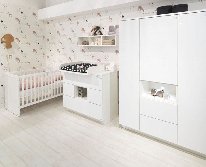 Wellemobel Malie Kinderzimmer Weiss Rose