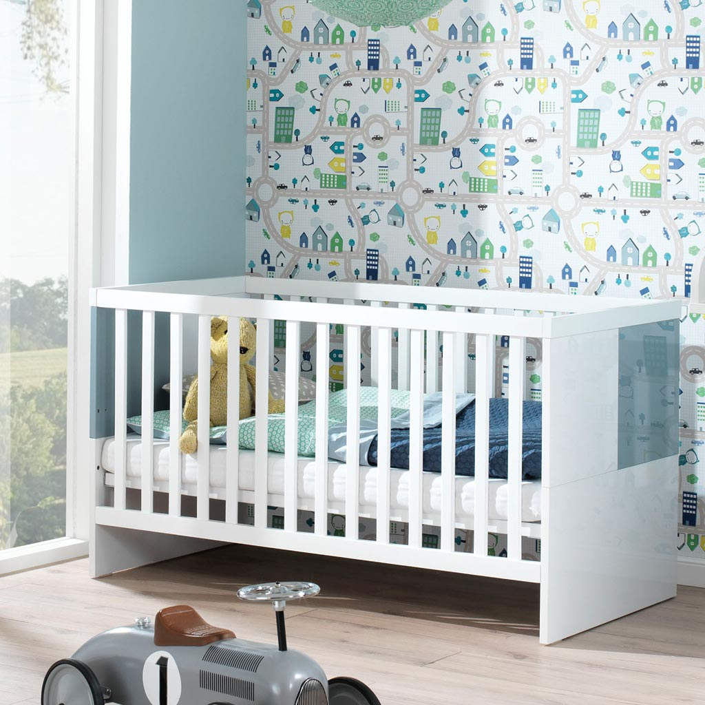 wellem bel milla kinderzimmer wei pacific blau. Black Bedroom Furniture Sets. Home Design Ideas