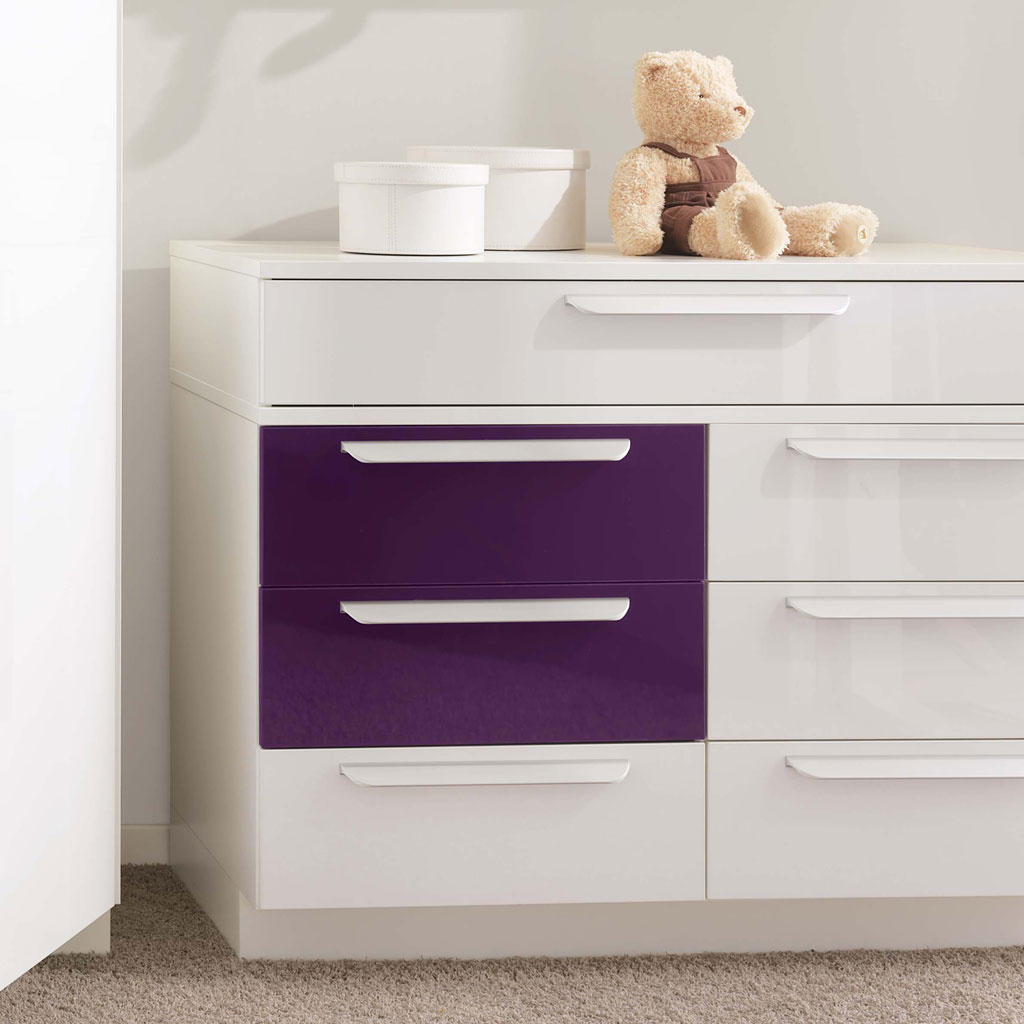 wellem bel milla kinderzimmer wei lila. Black Bedroom Furniture Sets. Home Design Ideas