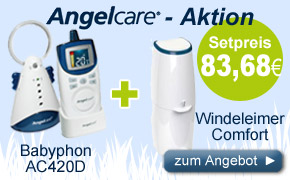 Angelcare Babyphon & Windeleimer Set