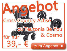 Teutonia Cross Country Achse zum Aktionspreis zu Be You & Cosmo