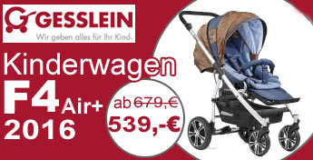 Gesslein F4 Air Plus Kinderwagen