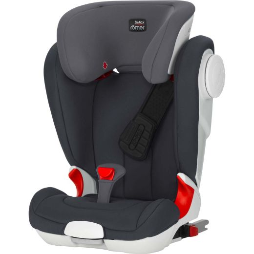 britax r mer kidfix ii xp sict storm grey zum toppreis. Black Bedroom Furniture Sets. Home Design Ideas