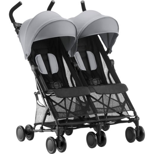 britax holiday double buggy steel grey g nstig kaufen. Black Bedroom Furniture Sets. Home Design Ideas