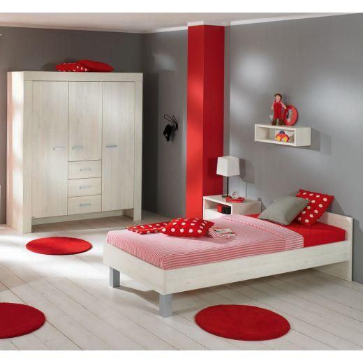 paidi mees jugendzimmer mit 3t rigem schrank. Black Bedroom Furniture Sets. Home Design Ideas