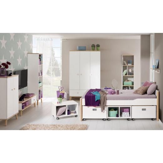 paidi ylvie jugendzimmer mit 3t rigem schrank. Black Bedroom Furniture Sets. Home Design Ideas
