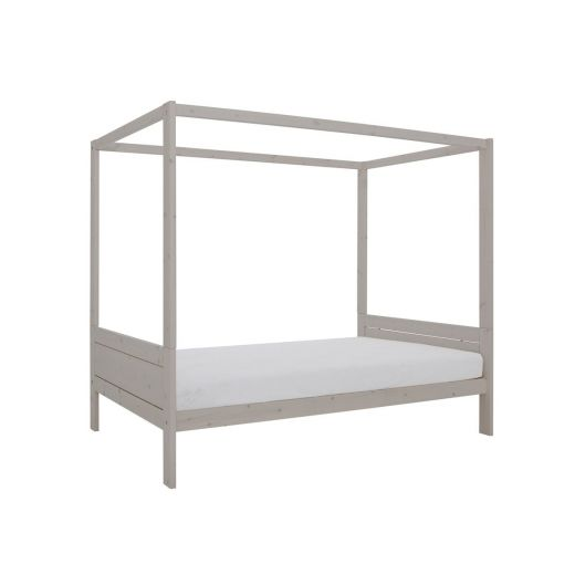 Lifetime himmelbett greywash 120x200 cm zum aktionspreis for Himmelbett 120x200