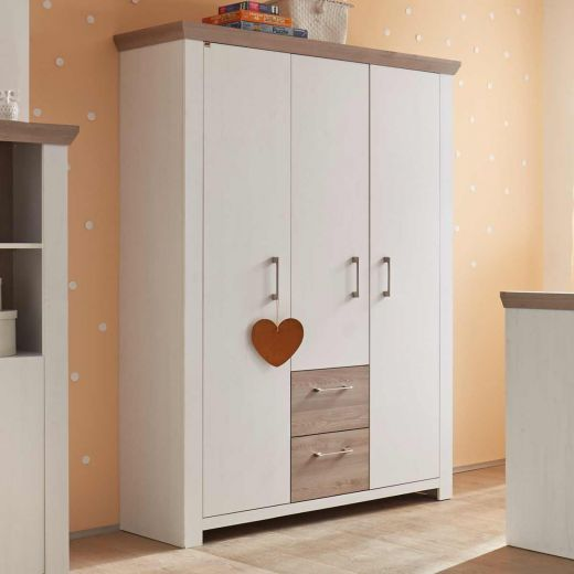 m usbacher new york kleiderschrank im babyonlineshop. Black Bedroom Furniture Sets. Home Design Ideas