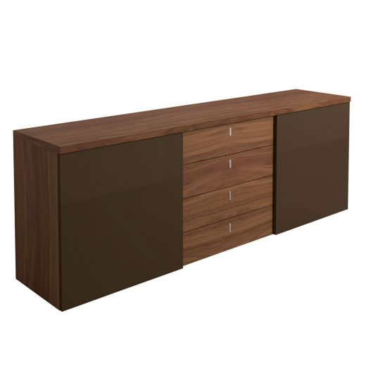 now time by h lsta sideboard mit 4 schubladen. Black Bedroom Furniture Sets. Home Design Ideas