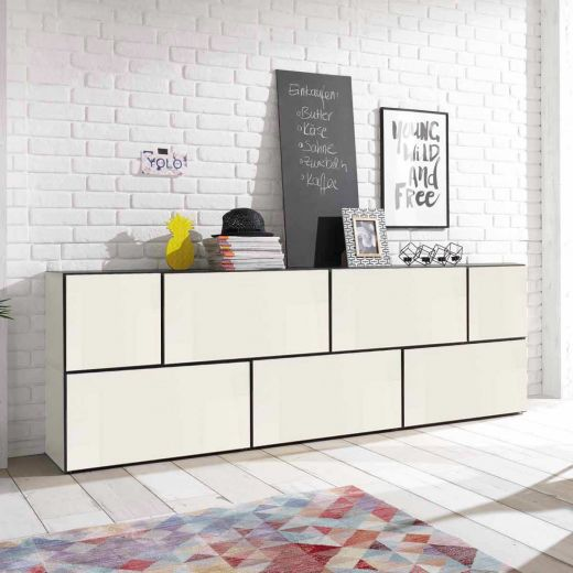 h lsta now to go kombination 1 mit 7 boxen schneewei. Black Bedroom Furniture Sets. Home Design Ideas