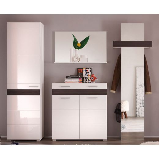 trendteam mezzo garderobe 248x195x38 cm. Black Bedroom Furniture Sets. Home Design Ideas