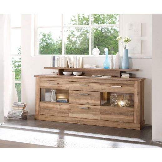 trendteam montreal sideboard nussbaum zum aktionspreis. Black Bedroom Furniture Sets. Home Design Ideas