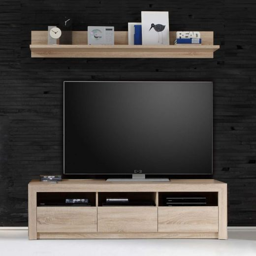 trendteam sevilla tv unterteil gro 164x46x48 cm. Black Bedroom Furniture Sets. Home Design Ideas