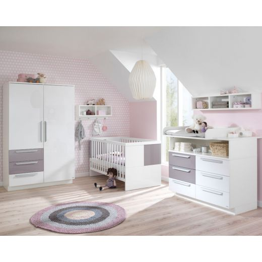 wellem bel milla kinderzimmer wei lilac grey. Black Bedroom Furniture Sets. Home Design Ideas